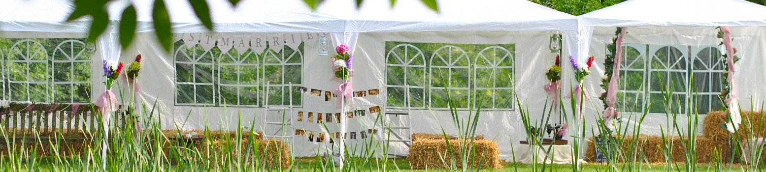 Bellows Mill Self Catering Accommodation - Wedding Marquee